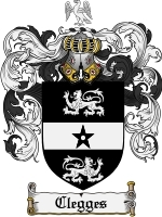 Primary image for Clegges Family Crest / Coat of Arms JPG or PDF Image Download