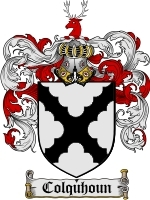 Colquhoun Family Crest / Coat of Arms JPG or PDF Image Download