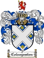 Colvaynston Family Crest / Coat of Arms JPG or PDF Image Download