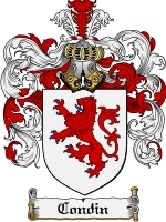Primary image for Condin Family Crest / Coat of Arms JPG or PDF Image Download