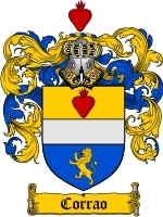 Corrao Family Crest / Coat of Arms JPG or PDF Image Download