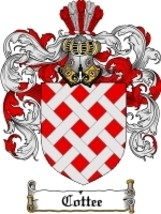 Cottee Family Crest / Coat of Arms JPG or PDF Image Download - $6.99