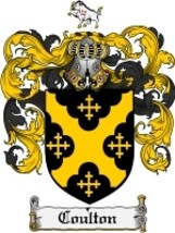 Coulton Family Crest / Coat of Arms JPG or PDF Image Download - $6.99