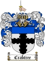 Primary image for Crabtree Family Crest / Coat of Arms JPG or PDF Image Download