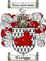 Craigge coat of arms download