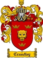 Crandley Family Crest / Coat of Arms JPG or PDF Image Download