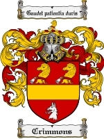 Primary image for Crimmons Family Crest / Coat of Arms JPG or PDF Image Download