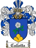 Cullotta Family Crest / Coat of Arms JPG or PDF Image Download