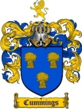 Cummings Family Crest / Coat of Arms JPG or PDF Image Download - $6.99