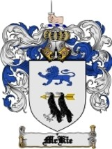 Mckie Family Crest / Coat of Arms JPG or PDF Image Download - $6.99