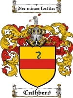Cuthberd Family Crest / Coat of Arms JPG or PDF Image Download