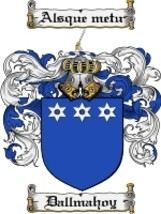Dallmahoy Family Crest / Coat of Arms JPG or PDF Image Download - $6.99