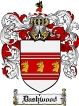 Dashwood Family Crest / Coat of Arms JPG or PDF Image Download - $6.99