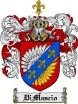 Dimascio Family Crest / Coat of Arms JPG or PDF Image Download - $6.99