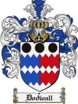 Dodwall Family Crest / Coat of Arms JPG or PDF Image Download - $6.99