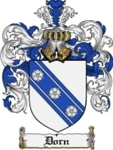 Dorn Family Crest / Coat of Arms JPG or PDF Image Download - $6.99