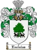 Encinias Family Crest / Coat of Arms JPG or PDF Image Download - $6.99
