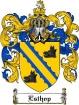 Esthop Family Crest / Coat of Arms JPG or PDF Image Download - $6.99