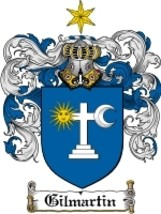 Gilmartin Family Crest / Coat of Arms JPG or PDF Image Download - $6.99