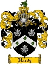 Hardy Family Crest / Coat of Arms JPG or PDF Image Download - $6.99