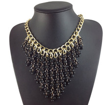 WOMENS fashion necklace multi-layer beads pendant chain TRENDY necklaces... - $21.99