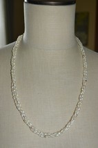 14k 585 Yellow Gold Genuine Freshwater Pearl Bead Beaded Choker Necklace... - $99.00