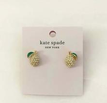 Kate Spade Perfect Picnic Lemon Stud Earrings NWT - $35.00