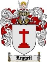 Leggett Family Crest / Coat of Arms JPG or PDF Image Download - $6.99