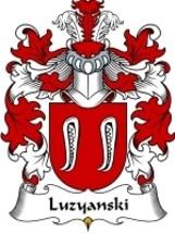 Luzyanski Family Crest / Coat of Arms JPG or PDF Image Download - $6.99