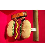 Pet Holiday Dog Clothes XS Hotdog Halloween Costume Set Lettuce Animal O... - $7.59