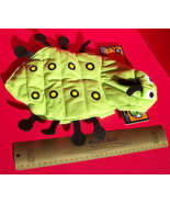 Pet Holiday Dog Clothes XXS Caterpillar Halloween Costume Set Hood Anima... - $7.59