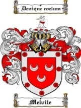 Melvile Family Crest / Coat of Arms JPG or PDF Image Download - $6.99