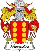 Moncada Family Crest / Coat of Arms JPG or PDF ... - $6.99