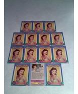 ***DEBBIE REYNOLDS***   Lot of 14 cards / Hollywood Walk of Fame - $8.99