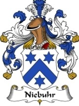 Niebuhr Family Crest / Coat of Arms JPG or PDF Image Download - $6.99