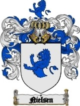 Nielsen Family Crest / Coat of Arms JPG or PDF Image Download - $6.99