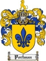 Portman Family Crest / Coat of Arms JPG or PDF Image Download - $6.99