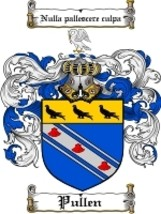 Pullen Family Crest / Coat of Arms JPG or PDF Image Download - $6.99