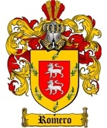Romero Family Crest / Coat of Arms JPG or PDF Image Download - $6.99