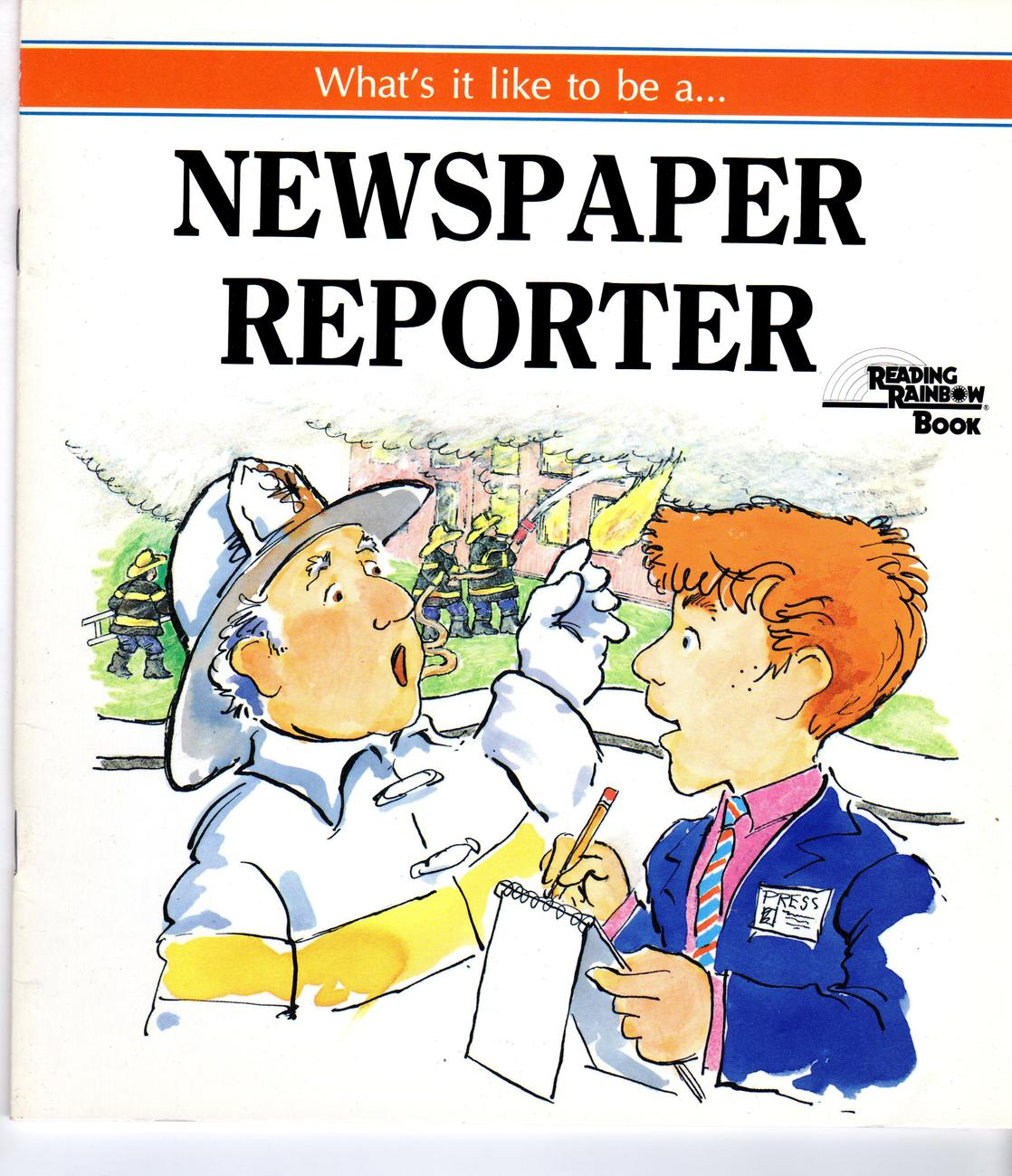 Primary image for What's It Like to be a ...  Newspaper Reporter