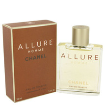 ALLURE by Chanel 3.4 oz 100 ml EDT Cologne Spray for Men New in Box - $131.79