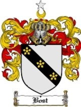 Bost Family Crest / Coat of Arms JPG or PDF Image Download - $6.99