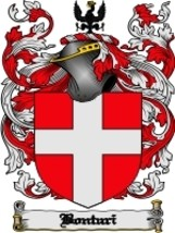 Bonturi Family Crest / Coat of Arms JPG or PDF Image Download - $6.99