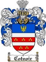 Primary image for Cotnoir Family Crest / Coat of Arms JPG or PDF Image Download