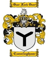 Cunningham Family Crest / Coat of Arms JPG or PDF Image Download - $6.99