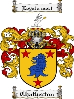 Primary image for Chatherton Family Crest / Coat of Arms JPG or PDF Image Download