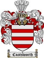 Coatsworth Family Crest / Coat of Arms JPG or PDF Image Download