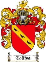 Primary image for Colliss Family Crest / Coat of Arms JPG or PDF Image Download