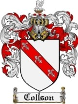 Collson Family Crest / Coat of Arms JPG or PDF Image Download - $6.99