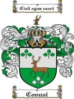 Primary image for Connal Family Crest / Coat of Arms JPG or PDF Image Download